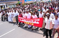 FSETO protest against brutal police action on stidents